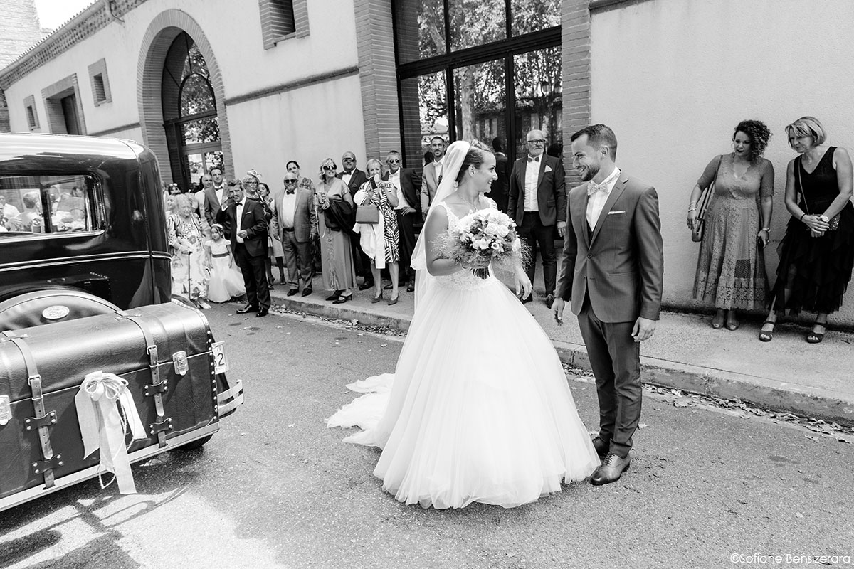 Mariage de Mathilde & Alexandre au Miroir des Lys 24 mairie mariage toulouse