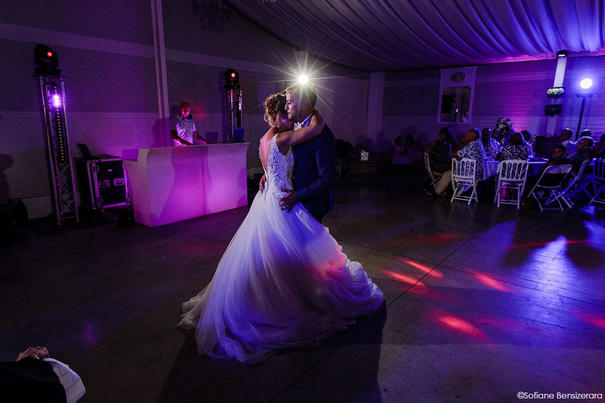 Mariage de Mathilde & Alexandre au Miroir des Lys 73 ouverture bal soiree mariage
