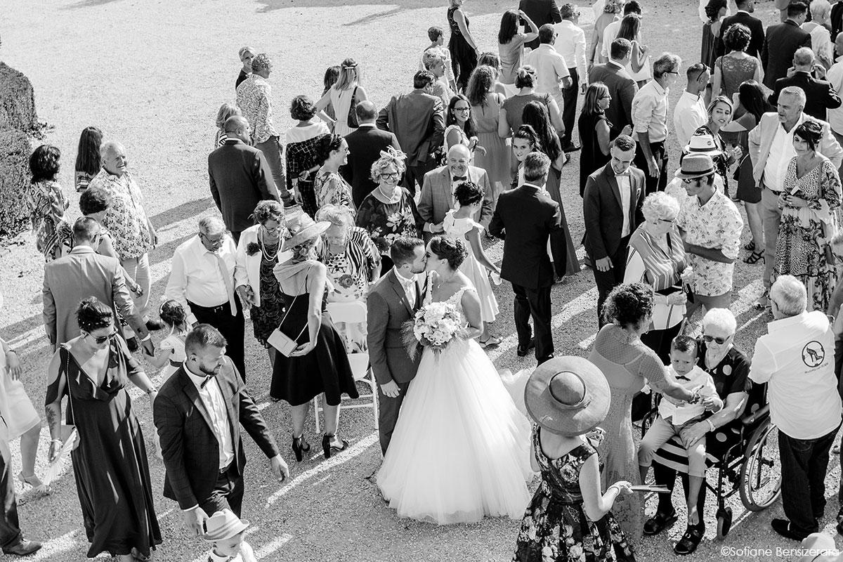 Mariage de Mathilde & Alexandre au Miroir des Lys 50 photo groupe mariage