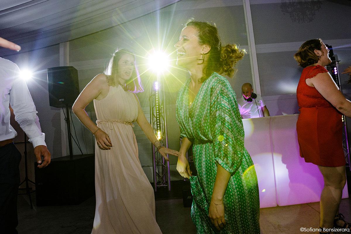 Mariage de Mathilde & Alexandre au Miroir des Lys 77 photo soirée toulouse